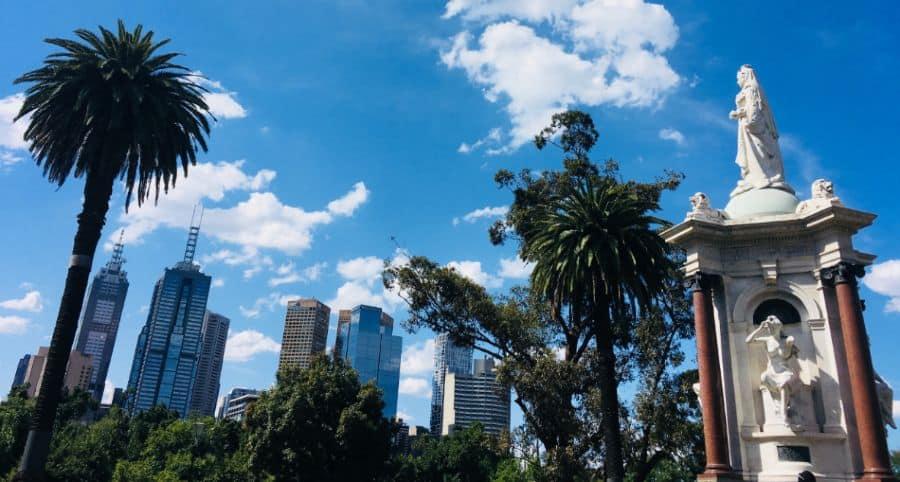1 dzien w Melbourne