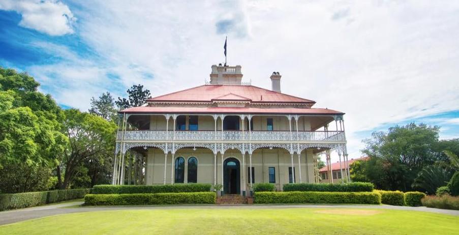 okolice Brisbane, główny budynek Woodlands of Marburg