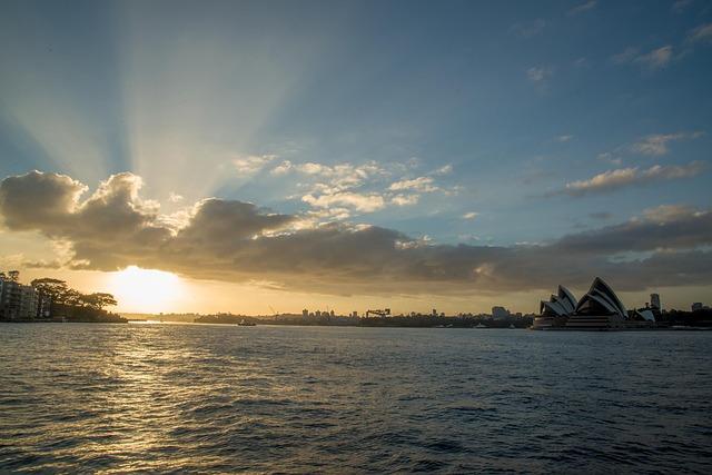 pogoda w Sydney, lato w Sydney, zima w Sydney, temperatury w Sydney