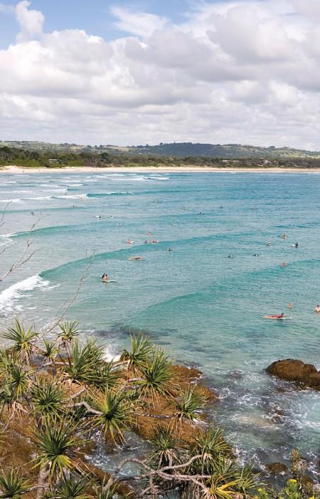 plaża surferzy Australia