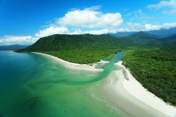 Cape Tribulation plaża i los tropikalny