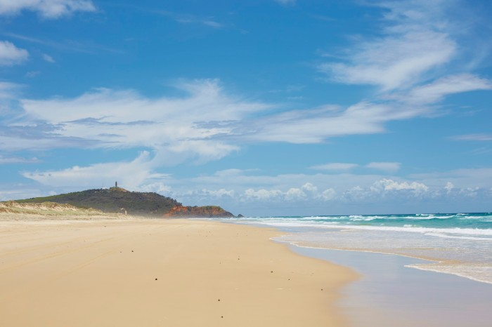 Moreton Island plaża