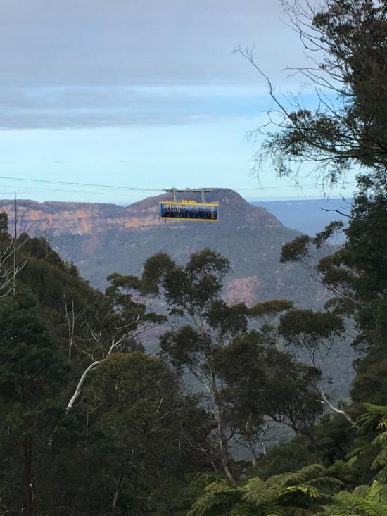 Blue Mountains gondola Scenic Worlds
