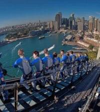 wejście na most w Sydney