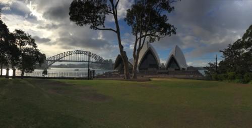 widok na Opera House w Sydney